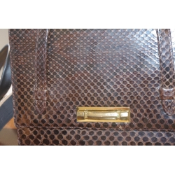 BAG AND PURSE. SNAKE SKIN